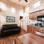 Jellystone Larkpsur cabin interior