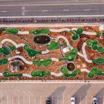 Jellystone Larkpsur putt putt mini golf