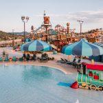 Jellystone Larkpsur swimming pool