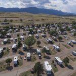 Aerial of Colorado Springs KOA