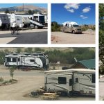 Middlefork RV Park in Fairplay Colorado collage of pics