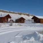 Escape to the winter wonderland and stay in our cabins at Muddy Creek Cabins (Kremmling CO)