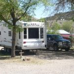 Pull Thru RV site (High Country RV Park, Naturita CO)
