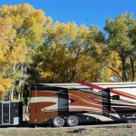 RV sites at Peacock Meadows Riverside RV Park in South Fork CO (open all year)