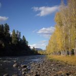 Take a stroll along the river