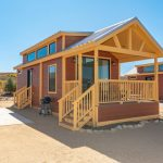 Tiny house at River Run RV Resort in Granby CO