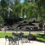 Riverbend RV Park and Cabins in Montrose Colorado RVs even big rigs