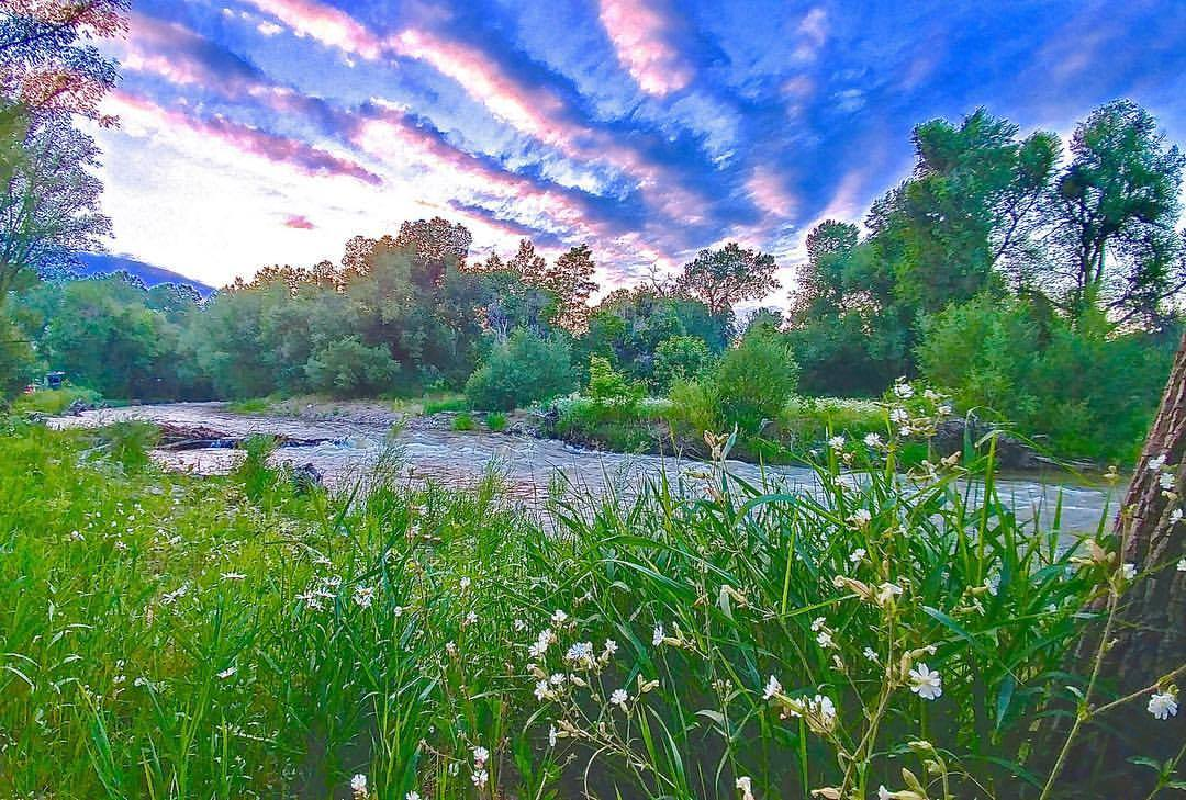 Colorado scenery photo by Roy Youree Riverview RV Park Loveland CO
