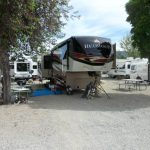Back-in Full Hook up RV site (Mt Princeton RV Park & Cabins in Buena Vista CO)
