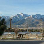 Mt Princeton from Mt Princeton RV Park & Cabins in Buena Vista CO