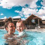 Swimming pool at River Run RV Resort in Granby Colorado