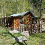 Exterior of a cabin - The Lodge at San Isabel in Rye Colorado offers your vacation rental cabins