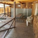 Outside porch - The Lodge at San Isabel in Rye Colorado offers your vacation rental cabins