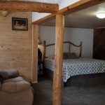 Interior room at The Pine Lodge in Rye Colorado