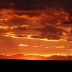 Beautiful sunsets at The Views RV Park and Campground in Dolores Colorado