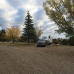 Pull Through sites at The Views RV Park and Campground in Dolores Colorado