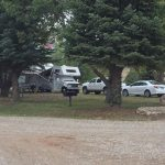 Full hook up at The Views RV Park and Campground in Dolores Colorado