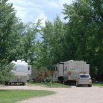 Roomy RV sites at Westerly RV Park!