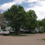 Shady RV sites at Westerly RV Park!