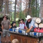 Cowboy fun at Winding River Resort Village in Grand Lake, Colorado