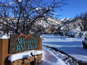 Westerly RV Park is open all year (Durango Colorado).