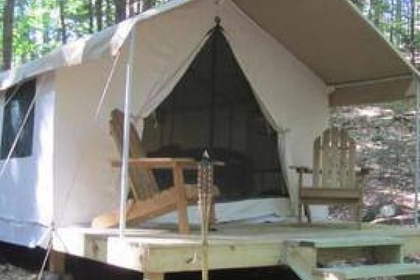 Glamping at Aspen Acres Campground in Rye Colorado