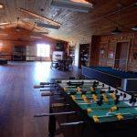 Rec room at Aspen Acres Campground in Rye Colorado