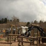 Lots of options for the kids at our playground ~ Base Camp at Golden Gate Canyon (Black Hawk