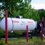 Propane is an option at Base Camp at Golden Gate Canyon near Black Hawk