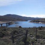 Blue Mesa Reservoir, we're near the bridge (camping option at Blue Mesa Escape, west of Gunnison Colorado)