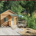 Creekside one-room cabin; sleeps up to 4 at Cedar Creek RV Park (Montrose CO)