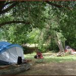 Primitive creekside tent sites available at Cedar Creek RV Park (Montrose CO)
