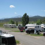 Large sites to accommodate large RVs ~ Centennial RV Park in Montrose
