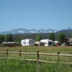 Our sites offer beautiful views around Centennial RV Park in Montrose
