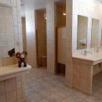 Incredible bathrooms at Chalk Creek RV Park & Campground near Buena Vista Colorado!