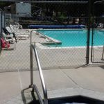 Cool off in the pool at Colorado Heights Campground!