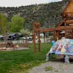 Great play area at Dolores River Campground!