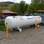 Propane at Dolores River Campground in SW Colorado!