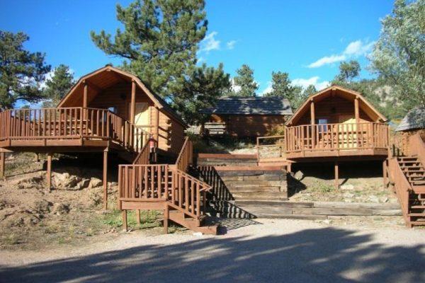 Cabin rentals at Estes Park KOA in Estes Park CO!
