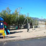 Fun play area for kids at Estes Park KOA in Estes Park CO!