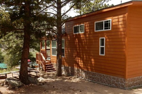 Cabins for rent at Yogi Bear's Jellystone Park of Estes (Estes Park Colorado)
