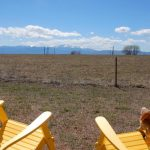 Great view of Pike's Peak from Falcon Meadow RV Campground!