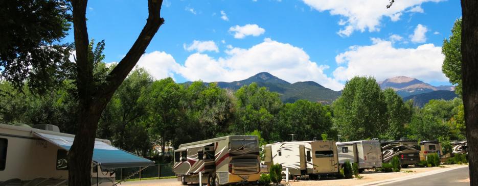 Garden Of The Gods Rv Resort Camp Colorado