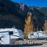 Room for all sizes of RVs, from camper trailers to the biggest RV rigs at Glenwood Canyon Resort
