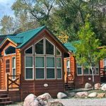 A full range of cabin accommodations, from rustic to elegant at Glenwood Canyon Resort