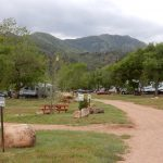 Beautiful setting at Golden Eagle Campground Inc., in Colorado Springs