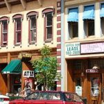 Minutes from shopping in Manitou Springs (shown) and Old Colorado City from Goldfield RV Park in Colorado Springs