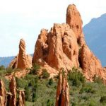 In less than 10 minutes, you can be at Garden of the Gods from Goldfield RV Park in Colorado Springs