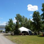 Great area to relax at Gunnison Lakeside RV Park and Cabins in Colorado