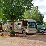 Colorado Springs KOA RV getaway